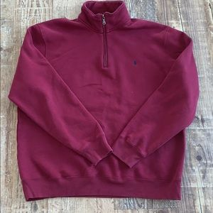POLO Ralph Lauren 1/4 Zip Sweatshirt Size XL